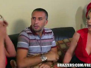 kõige brazzers, kontrollima threesome, suur lee uus