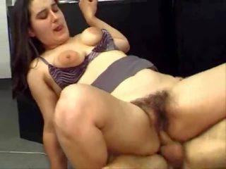 Chubby Hairy Fucked by Youth, Free Chubby Fucked Porn Video