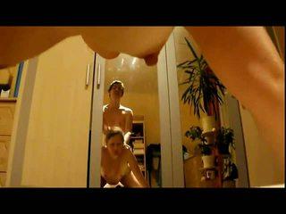 Si rambut perang isteri alina seks / persetubuhan dan pancutan air mani