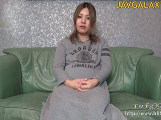 brünett, jaapani, solo girl, rase