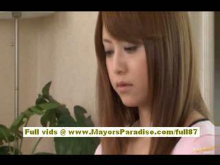 Akiho Yoshizawa asian doll has lovely tits