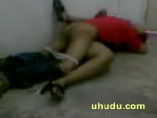 Naughty guy enjoying callgirl in hostel