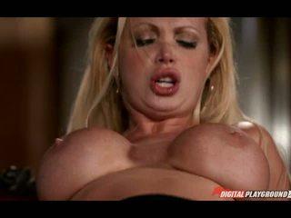 Lusty milf Nikki Benz banged real hard