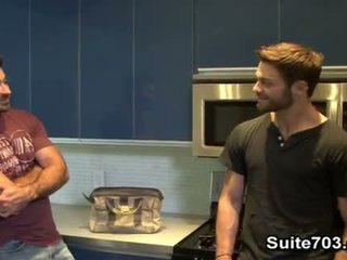Gay plumber Berke gets humped by Tommy