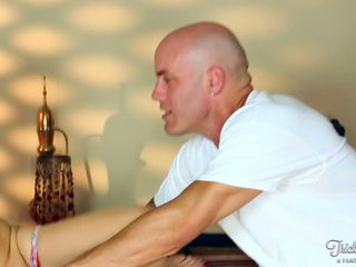 Sexy Sarah Vandella Gets Tricked Into Sucking And Fucking