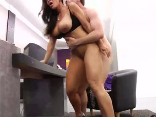 Hot mature bitch enjoys a hard fuck in the office