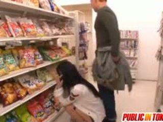 Sora aoi w silny doggy pieprzyć w sklep