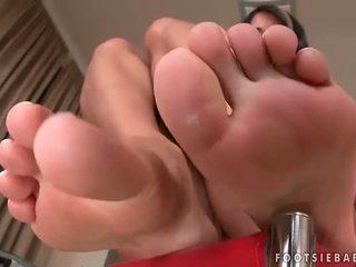 Sexy føtter og hot sex kavalkade