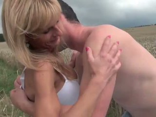 Not Mother and Not Real Son Fuck Outdoors: Free Porn 73