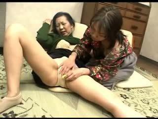 Freaks z natura 119 japońskie grannys majteczki rubbing 1