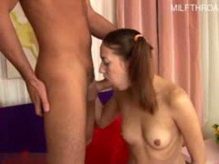hot brunette more, rated gaping fun, hq blowjob hot