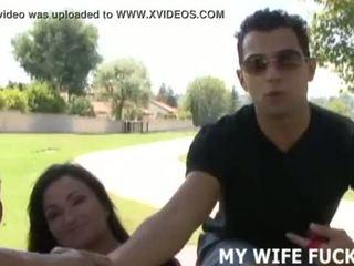 Дивіться ви дружина статтєві зв'язки a великий cocked stranger