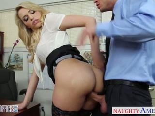 Sexy bureau nana mia malkova baise