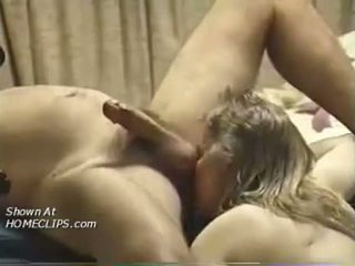 Blonde Girl Ass Licking And Cock Sucking
