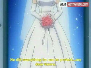 līgava, karikatūra, hentai, anime