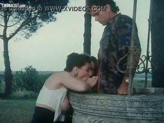 Emmanuelle Cristaldi, Vampirella and Barbarella - Nude scenes from I sogni oscen