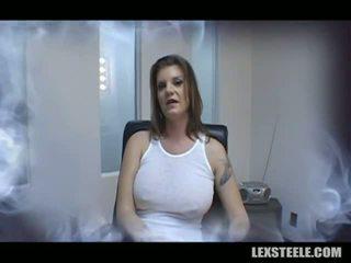 Kayla quinn gets onu güçlü kadın covered tarafından lex s çıplaklar sauce