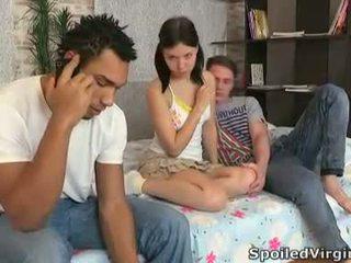 teens, shaved, defloration, virgins