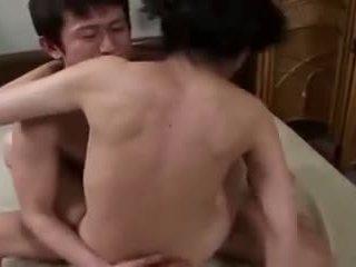 briunetė, oralinis seksas, japonijos, makšties lytis