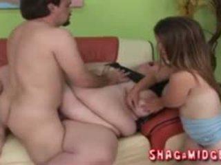 Migdet And BBW In Weird Threesome