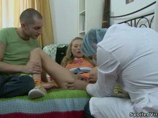 virgen, ruso, adolescente