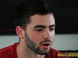 Sexy hunk Josh gets arse hammered after