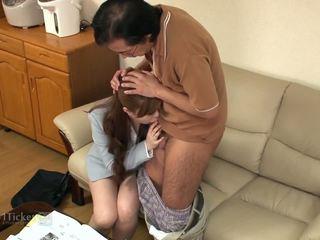 brunette, oral sex video, free deepthroat clip