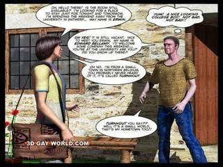 Quarto para aluguel 3d gay animated desenho animado comics