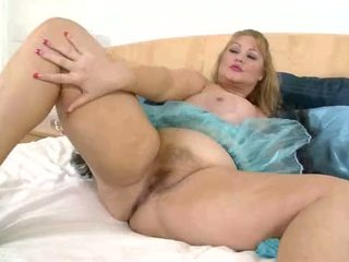 Fat BBW Samantha 38G in Tutu Plays with her Pussy