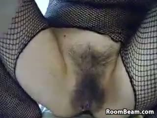 webcam, assolo, masturbazione, peloso