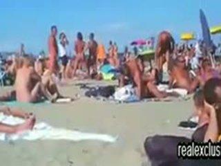 bruneta horký, nejlepší swingers horký, pláž vše