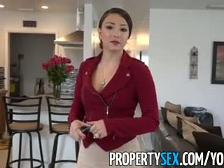 PropertySex - Big ass Latina real estate agent tricked into amateur sex video