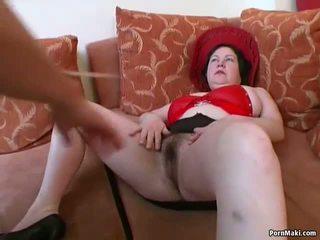 Besar titted montok dewasa gets dia berbulu alat kemaluan wanita pounded