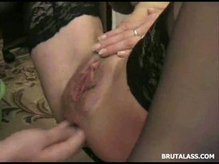 orgasme, chatte rasée, insertion