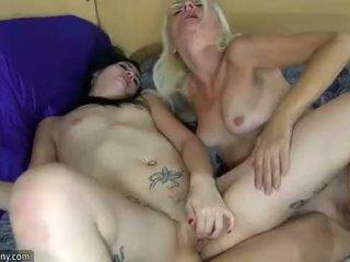 Oldnanny лесбийки възрастни и лесбийки тийн е мастурбиране с sextoy