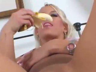 masturbácia, banán, fruits