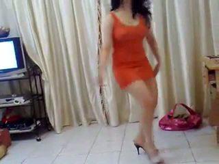 Arab Babe Bely Dancing & Teasing (Nudity)