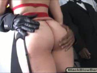 Seductive Whore Charlotte Vale Sucks Many Huge Black Cocks