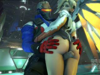 Mercy 에 overwatch 있다 섹스