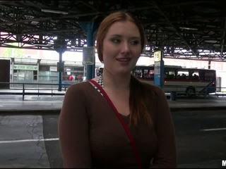 Eurobabe make money by fucking stranger