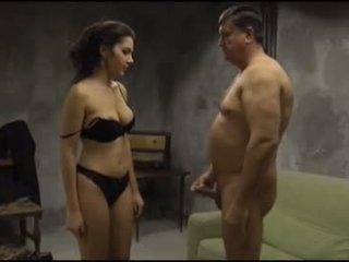 Pi - valentina nappi fukanje s an old man
