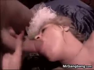 Bride In A Gangbang After A Wedding