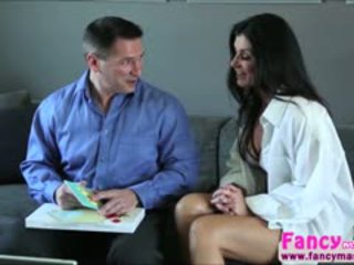 Brunette And Sexy India Summer Gives A Surprise