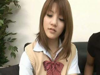 Risa Tsukinoasian model is a hot schoolgirl