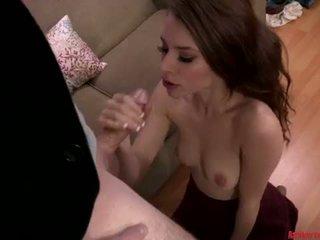 blowjob, sex, office, daughter