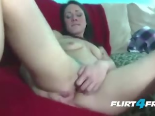Dominating Tatted Babe Explores Her Pussy and Ass