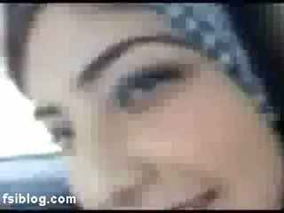 Arab Beauty Shabna Exposing Herself In Car For Her