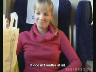 Publiczne pieprzyć na pociąg