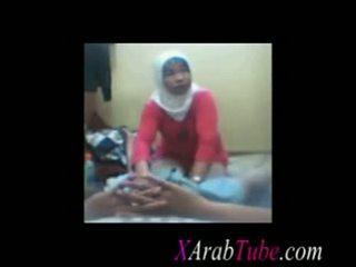 Hijab ควย การนวด