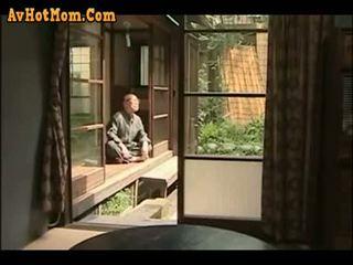 japonijos, tėtis, dukra, tėvas